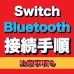Switch Bluetooth接続